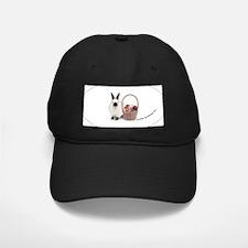 Bunny w/ Easter Basket Baseball Hat