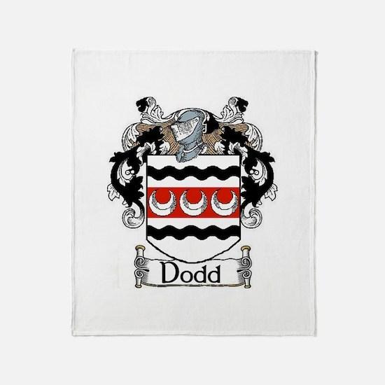 Dodd Coat of Arms Throw Blanket