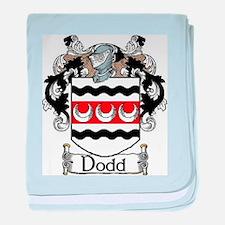 Dodd Coat of Arms baby blanket