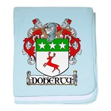 Doherty Coat of Arms baby blanket