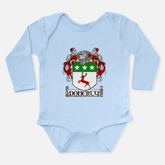 Doherty Coat of Arms Long Sleeve Infant Bodysuit