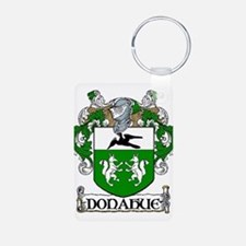 Donahue Coat of Arms Aluminum Photo Keychain