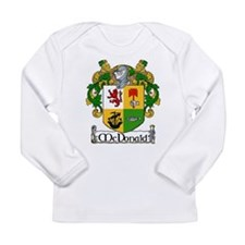McDonald Coat of Arms Long Sleeve Infant T-Shirt
