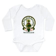 McDonald Clan Motto Long Sleeve Infant Bodysuit
