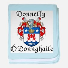 Donnelly In Irish & English baby blanket