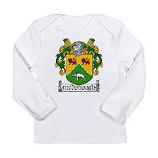 McDonough Coat of Arms Long Sleeve Infant T-Shirt