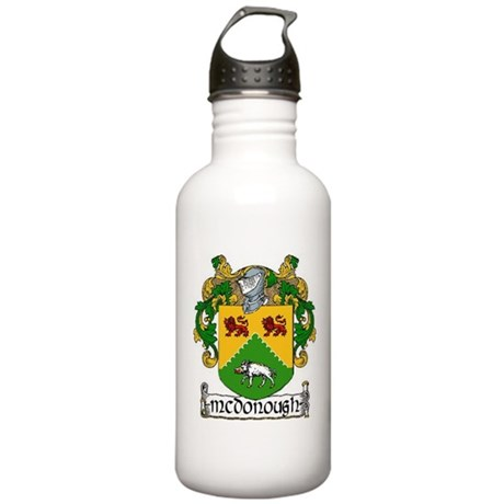 McDonough Coat of Arms Stainless Water Bottle 1.0L