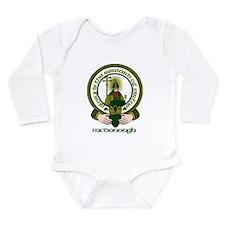McDonough Clan Motto Long Sleeve Infant Bodysuit