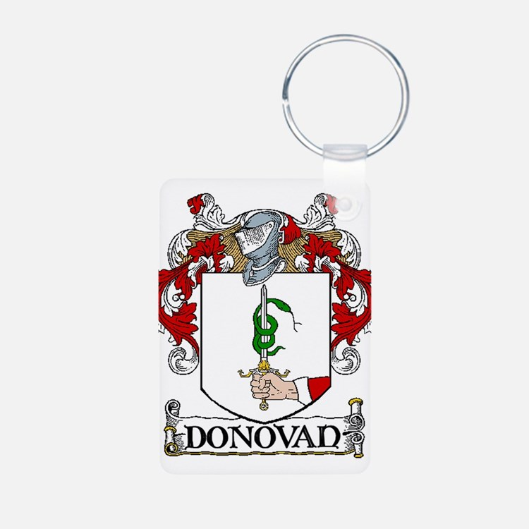 Donovan Coat of Arms Keychains