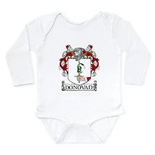Donovan Coat of Arms Long Sleeve Infant Bodysuit