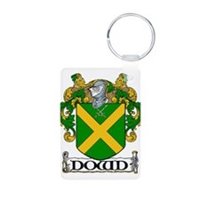 Dowd Coat of Arms Aluminum Photo Keychain