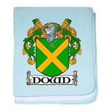 Dowd Coat of Arms baby blanket
