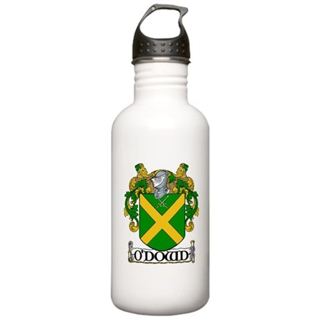 O'Dowd Coat of Arms Stainless Water Bottle 1.0L