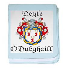 Doyle In Irish & English baby blanket