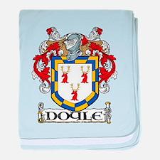 Doyle Coat of Arms baby blanket