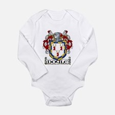 Doyle Coat of Arms Long Sleeve Infant Bodysuit