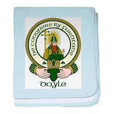 Doyle Clan Motto baby blanket