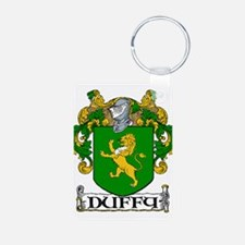 Duffy Coat of Arms Aluminum Photo Keychain