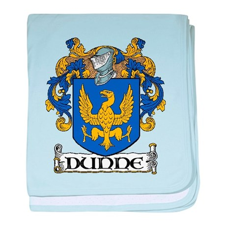 Dunne Coat of Arms baby blanket