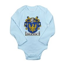 Dunne Coat of Arms Long Sleeve Infant Bodysuit