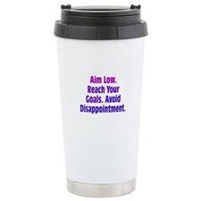 Avoid Disappointment Travel Mug
