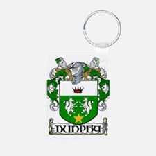 Dunphy Coat of Arms Aluminum Photo Keychain
