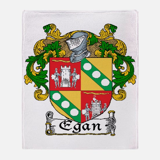 Egan Coat of Arms Throw Blanket