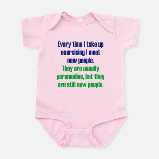 Benefits of Exercise Infant Bodysuit