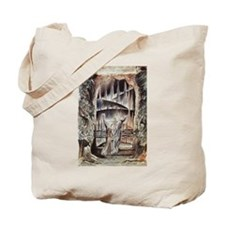 Dante and Virgil at the Entra Tote Bag