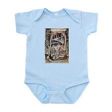 Dante and Virgil at the Entra Infant Bodysuit