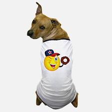 SMILEY {2} softball Dog T-Shirt