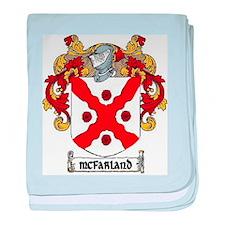 McFarland Coat of Arms baby blanket