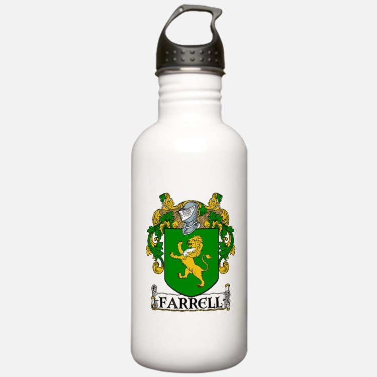 Farrell Coat of Arms Water Bottle