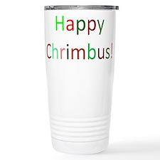 Happy Chrimbus Thermos Mug