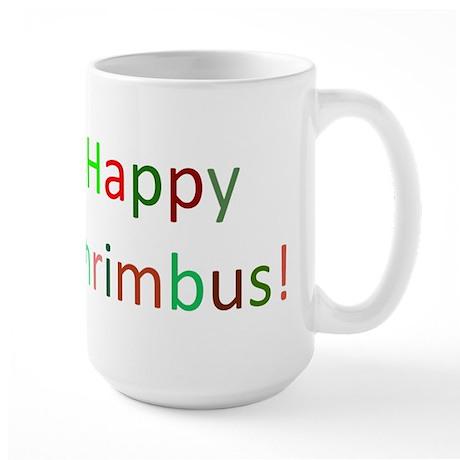 Happy Chrimbus Large Mug