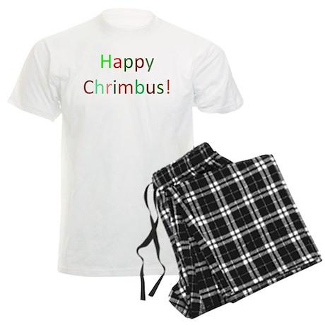 Happy Chrimbus Men's Light Pajamas
