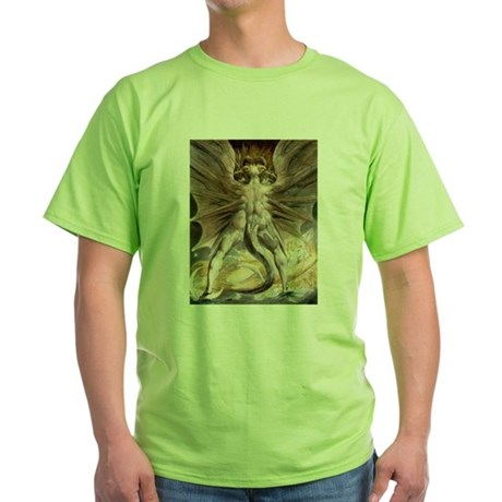The Great Red Dragon Green T-Shirt