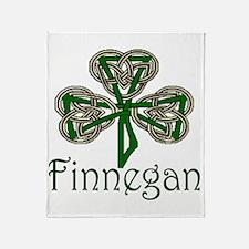 Finnegan Shamrock Throw Blanket