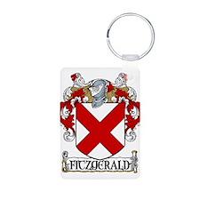 Fitzgerald Coat of Arms Aluminum Photo Keychain