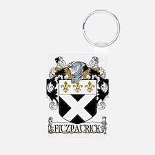 Fitzpatrick Coat of Arms Aluminum Photo Keychain