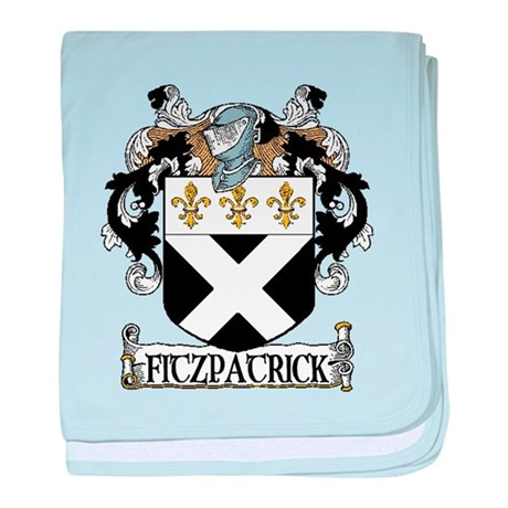 Fitzpatrick Coat of Arms baby blanket