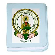 Fitzpatrick Clan Motto baby blanket