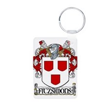 Fitzsimons Coat of Arms Keychains