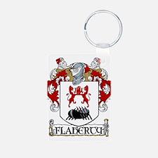 Flaherty Coat of Arms Aluminum Photo Keychain