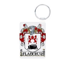 Flaherty Coat of Arms Keychains