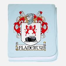 Flaherty Coat of Arms baby blanket