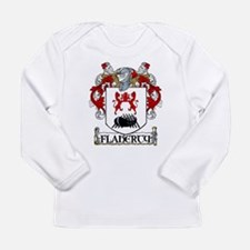 Flaherty Coat of Arms Long Sleeve Infant T-Shirt