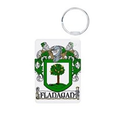 Flanagan Coat of Arms Keychains