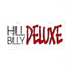 Hillbilly Deluxe Aluminum License Plate