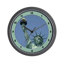 Unique Statue of liberty statue Wall Clock